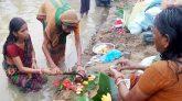 গঙ্গা স্নানের মধ্য দিয়ে কমলগঞ্জে কাত্যায়নী পূজা সম্পন্ন