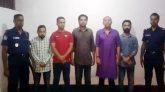 ফেঞ্চুগঞ্জে নাশকতার মামলায় ৫ ছাত্রদল নেতা গ্রেপ্তার