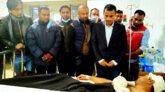 সন্ত্রাসী হামলায় আহত সবুজের পাশে আলম খান মুক্তি